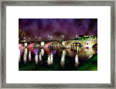 The Color Of The Night. Framed Print by Marta Eva LLamera