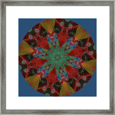 The Color Of Time Framed Print