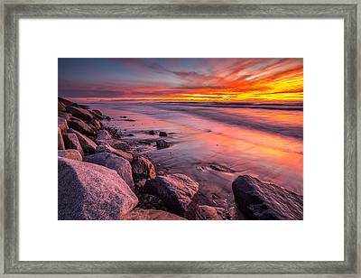 The Color Of Twilight Framed Print