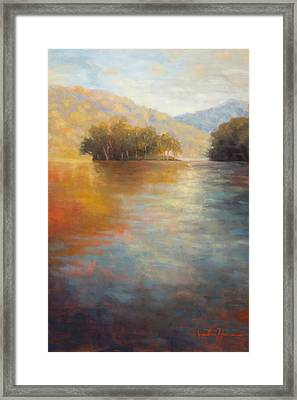 The Color Of Water Framed Print by Jonathan Howe