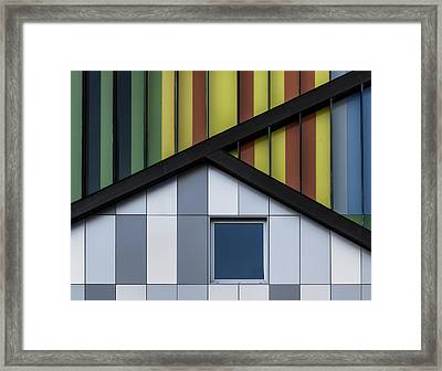 The Color Symphony Framed Print by Jef Van Den