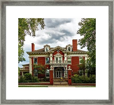 The Colorado Governor's Mansion Framed Print by Mountain Dreams