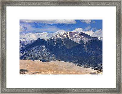 The Colorado Great Sand Dunes  125 Framed Print by James BO  Insogna
