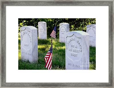 The Colored Troops Remembered Framed Print by Paul W Faust - Impressions of Light