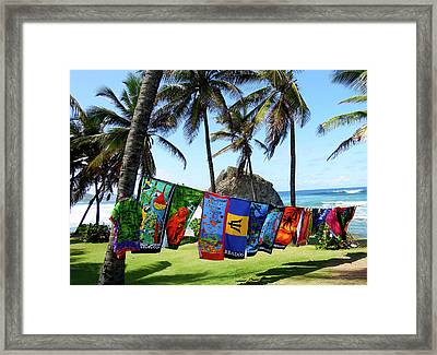 The Colors Of Barbados Framed Print