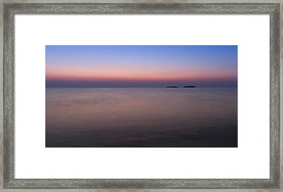 The Colors Of Dawn Framed Print