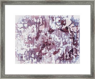 The Colors Of Love Framed Print by Moustafa Al Hatter