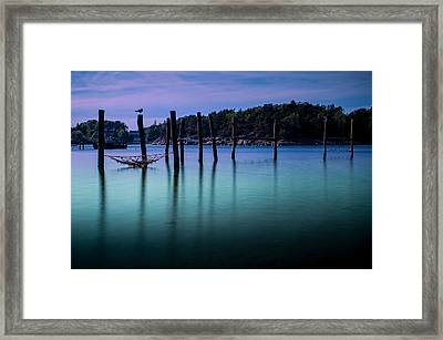 The Colors Of The Evening Framed Print