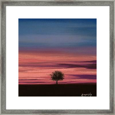The Colors Of The Night Framed Print