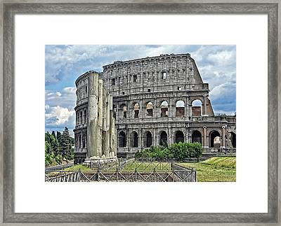The Colosseum Framed Print