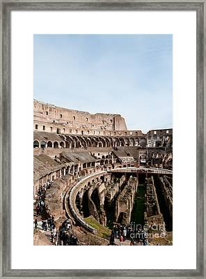 The Colosseum P Framed Print