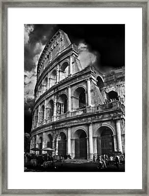 The Colosseum Rome Framed Print by Darren Burroughs