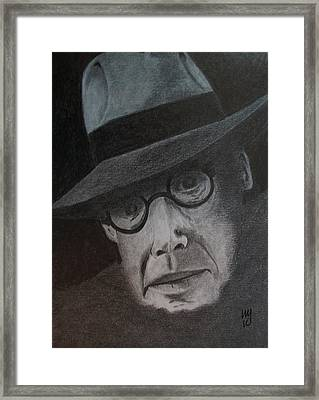 The Colossus Of Maroussi Framed Print