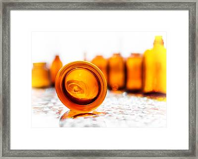 The Colour Of Amber I Framed Print by Jon Woodhams