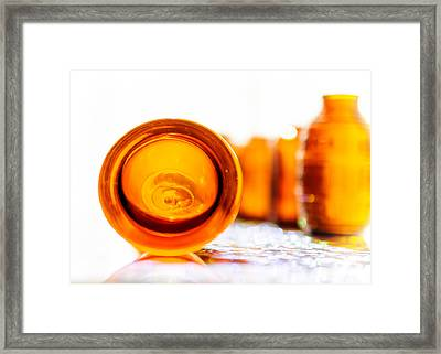 The Colour Of Amber II Framed Print