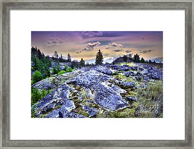 The Colours At Skaha Bluffs Framed Print by Tara Turner