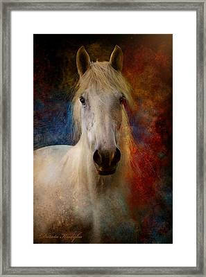 The Colours Of Love. Framed Print