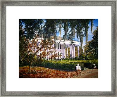 The Columns Framed Print