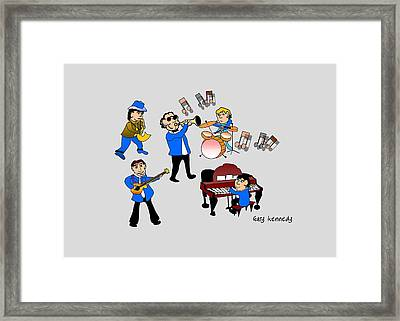 The Combo Framed Print by Gary Kennedy