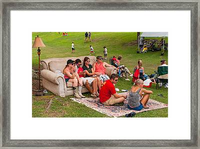 The Comforts Of Home Framed Print by Barry Bohn