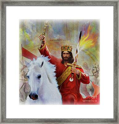 The Coming King Framed Print
