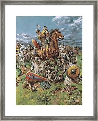 The Coming Of The Conqueror Framed Print