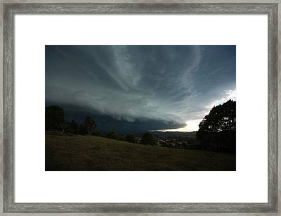 The Coming Storm Framed Print by Odille Esmonde-Morgan