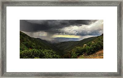 Framed Print featuring the photograph The Coming Storm by Rick Furmanek