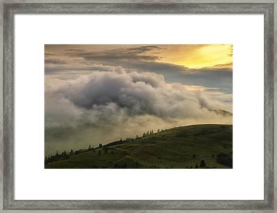 Summer Storm - Roan Mountain Framed Print