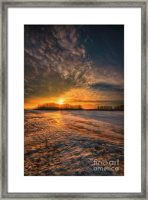 The Coming Warmth Framed Print by Ian McGregor