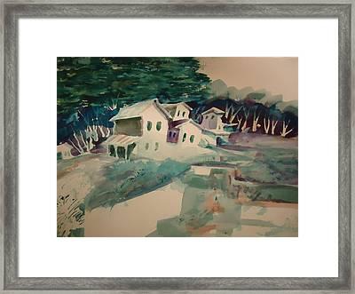 The Commune Framed Print