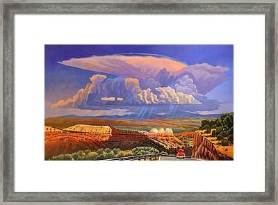 The Commute Framed Print by Art West