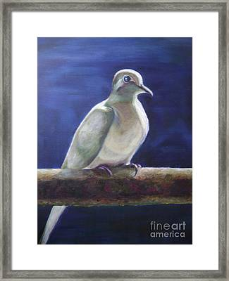 The Companion Framed Print by Asha Porayath