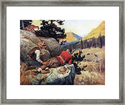 The Competition Framed Print by Philip R Goodwin