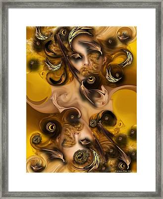 The Complex Angel Framed Print