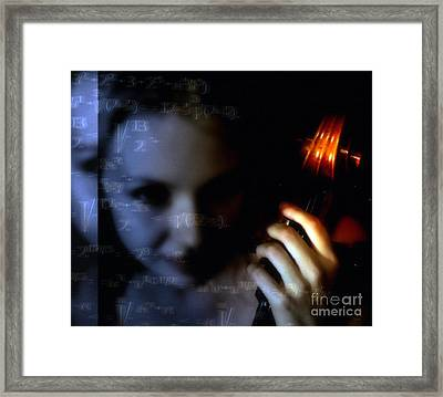 The Composer  Framed Print by Steven Digman