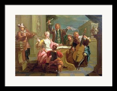 18th Century Photographs Framed Prints