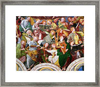 The Concert Of Angels Framed Print