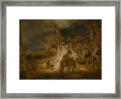 The Concord Of The State Framed Print by Rembrandt