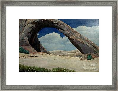 The Concrete Framed Print by Syed kashif Ahmad
