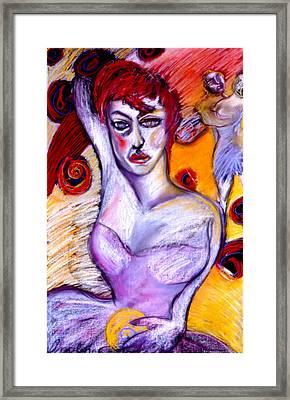 The Concupecient Framed Print by Angelina Marino