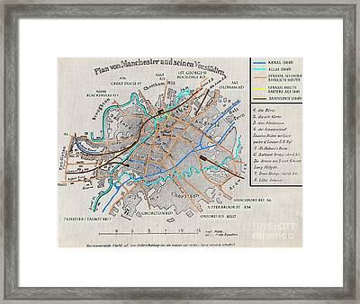 'the Condition Of The Working Class In England Framed Print by MotionAge Designs