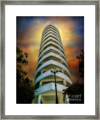 The Condominium Framed Print by Adrian Evans