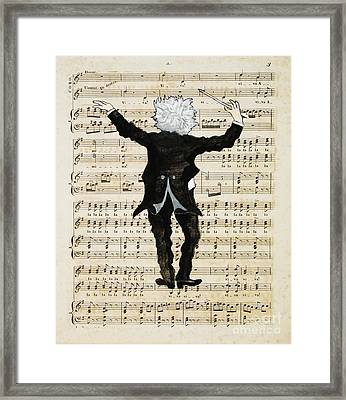 The Conductor Framed Print by Paul Helm