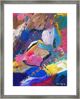 The Conductor's Baton Framed Print