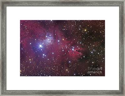 The Cone Nebula Framed Print