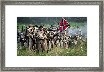 The Confederate Army  Framed Print by Michael Demagall