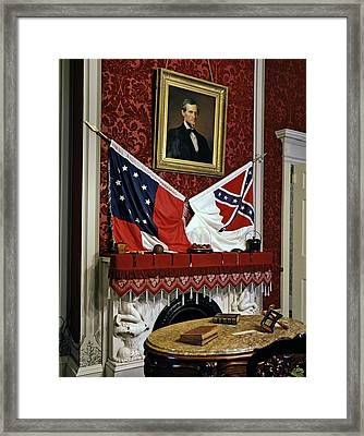 The Confederate White House Framed Print