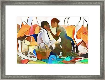 The Confidante Framed Print by Wayne Pascall