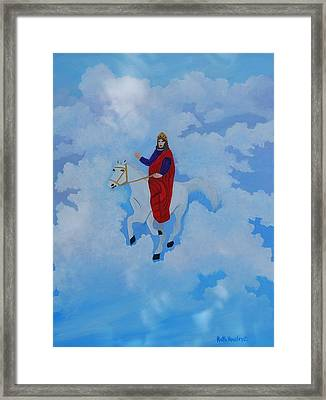 The Conqueror And King Framed Print by Ruth  Housley